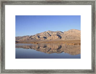 Panamint Bluff Framed Print by Troy Montemayor