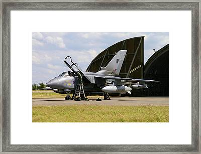 Framed Print featuring the photograph Panavia Tornado Gr4 by Tim Beach