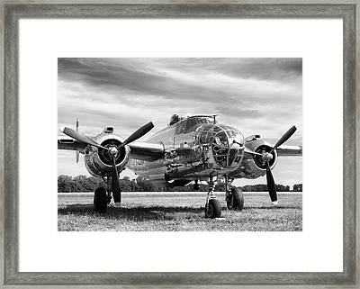 Panchito B-25 Framed Print by Peter Chilelli