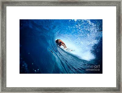 Pancho In The Tube Framed Print by Vince Cavataio - Printscapes