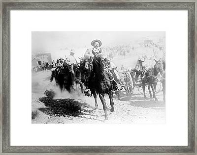 Pancho Villa, Mexican Revolutionary Framed Print by Science Source