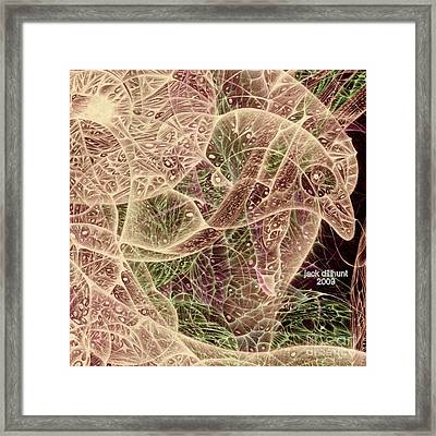 Framed Print featuring the drawing Pandemmia 2009 by Jack Dillhunt