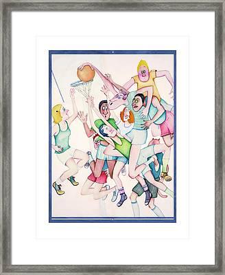 Pandiculation Framed Print by Melinda Gay
