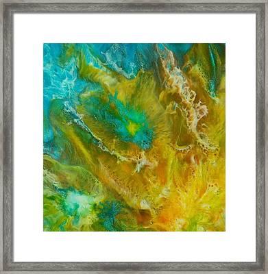 Framed Print featuring the painting Pandora  by Christie Minalga
