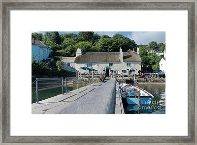 Pandora Inn Cornwall Framed Print by Terri Waters