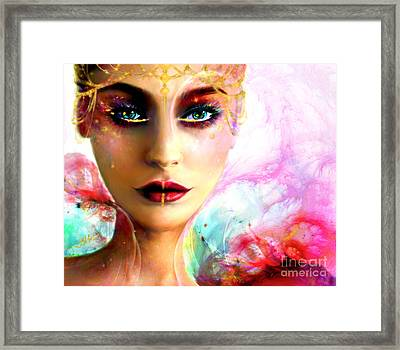 Pandora, The All Giving Framed Print