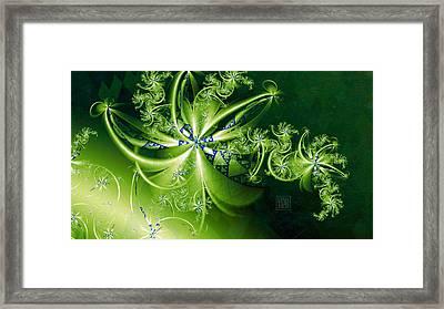 Pandora's Bouquet Framed Print