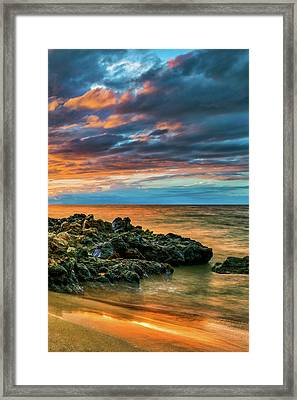 End Of A Perfect Day P3 Framed Print by David Rivera