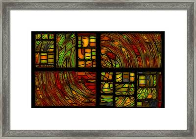 Panels Framed Print by Jean-Marc Lacombe