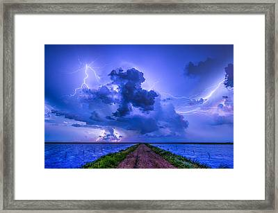 Panhandle Flood Framed Print