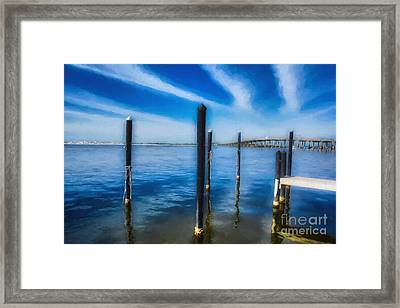 Framed Print featuring the photograph Panhandle Poles # 3 by Mel Steinhauer