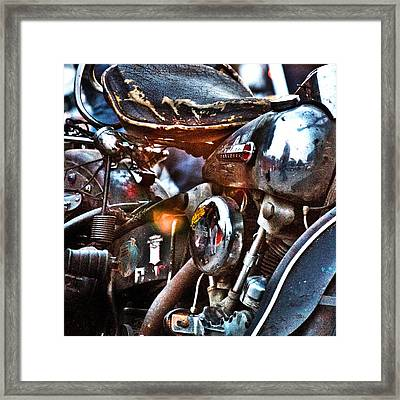 Panhead 1 Framed Print