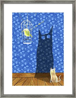 Panic Attack Framed Print