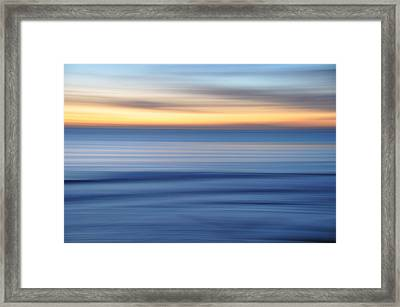 Panning Framed Print by Kelly Wade