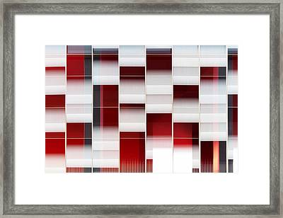 Panning On The Wind Framed Print