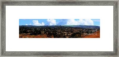 Panorama From Pachamama V Framed Print