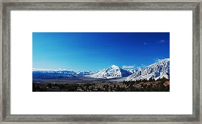 Panorama Framed Print by Jessica Roth