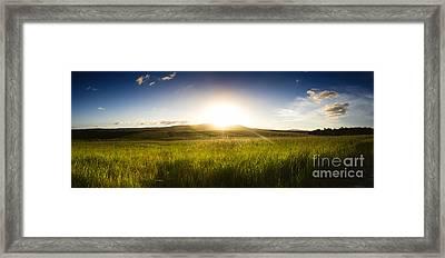 Panorama Landscape Framed Print