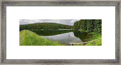Panorama Liebesbankweg, Harz Framed Print by Andreas Levi