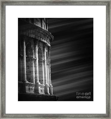 Panorama Of Roma Framed Print
