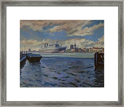 Panorama Rotterdam Framed Print