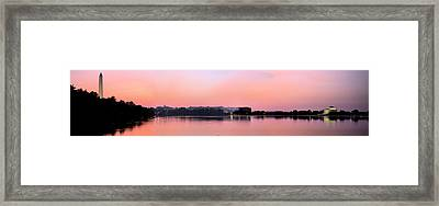 Panoramic Dawn Framed Print by JC Findley
