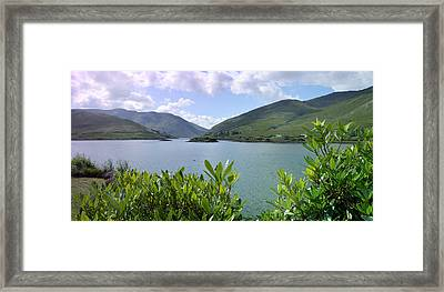 Panoramic View Kylemore Loch Framed Print