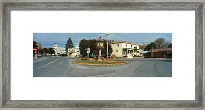 Panoramic View Of Copake, New York Framed Print by Panoramic Images