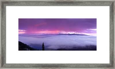 Panoramic Wilderness Framed Print