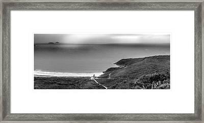 Panoramica-emerencias-buzios-rj.jpg Framed Print