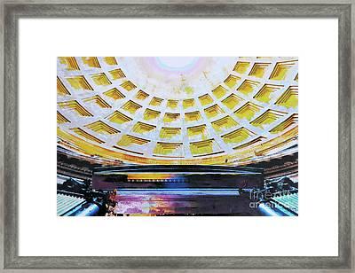 Panteon Framed Print