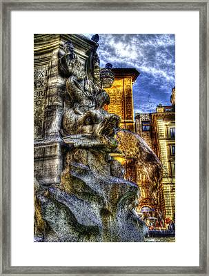 Pantheon Fish Framed Print by Brian Thomson