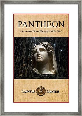 Pantheon Framed Print