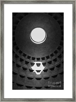 Pantheon Rome Italy Framed Print