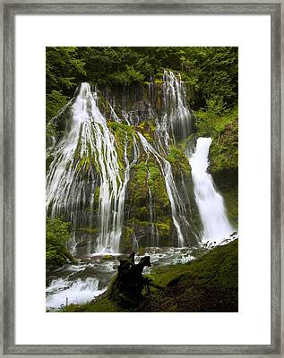 Panther Creek Falls Framed Print