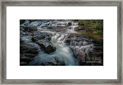 Panther Creek Upper Falls Framed Print