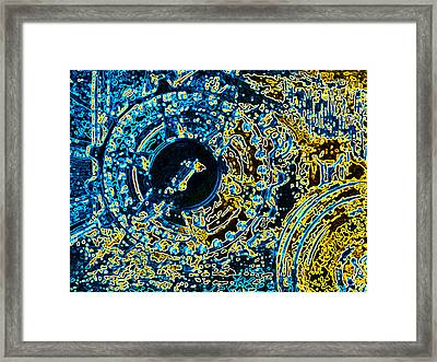 Panther Wheel Abstract Framed Print by Ben Freeman
