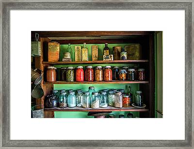 Framed Print featuring the photograph Pantry by Paul Freidlund