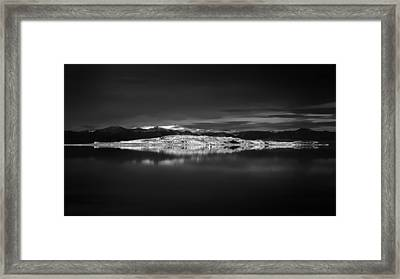 Paoha Island Reflections Framed Print by Joseph Smith