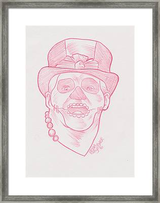 Pap Shango Framed Print