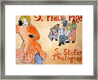 Paparazzi Framed Print by Suzanne Stofer