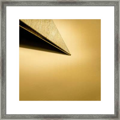 Paper Airplanes Of Wood 7-3 Framed Print by YoPedro