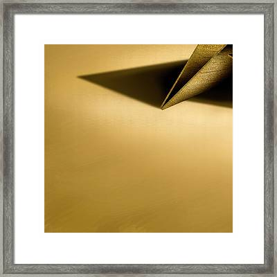 Paper Airplanes Of Wood 7-4 Framed Print by YoPedro