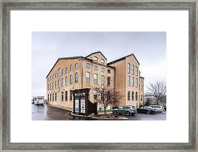 Paper Discovery Center Framed Print by Randy Scherkenbach