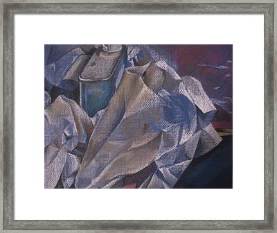 Paper No 2  Framed Print by Julie Orsini Shakher
