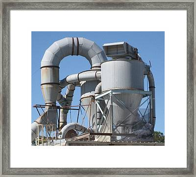 Paper Recycling Plant 2 Framed Print by Stephen Hawks