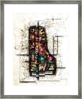 Concerto I Framed Print by Gary Bodnar