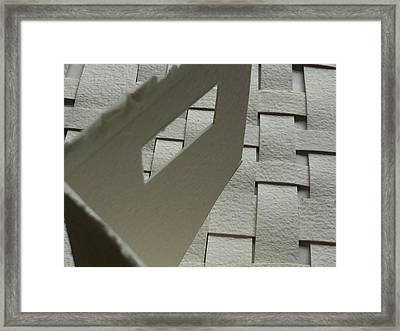 Paper Structure-2 Framed Print