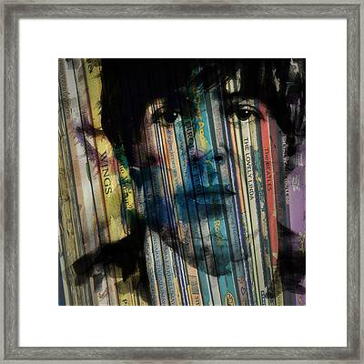 Paperback Writer Framed Print by Paul Lovering