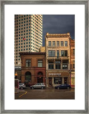 Paperdoll Framed Print by Bryan Scott